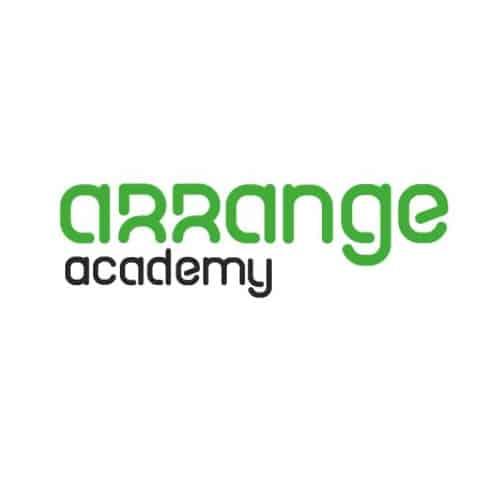 Arrange Academy logo - wit