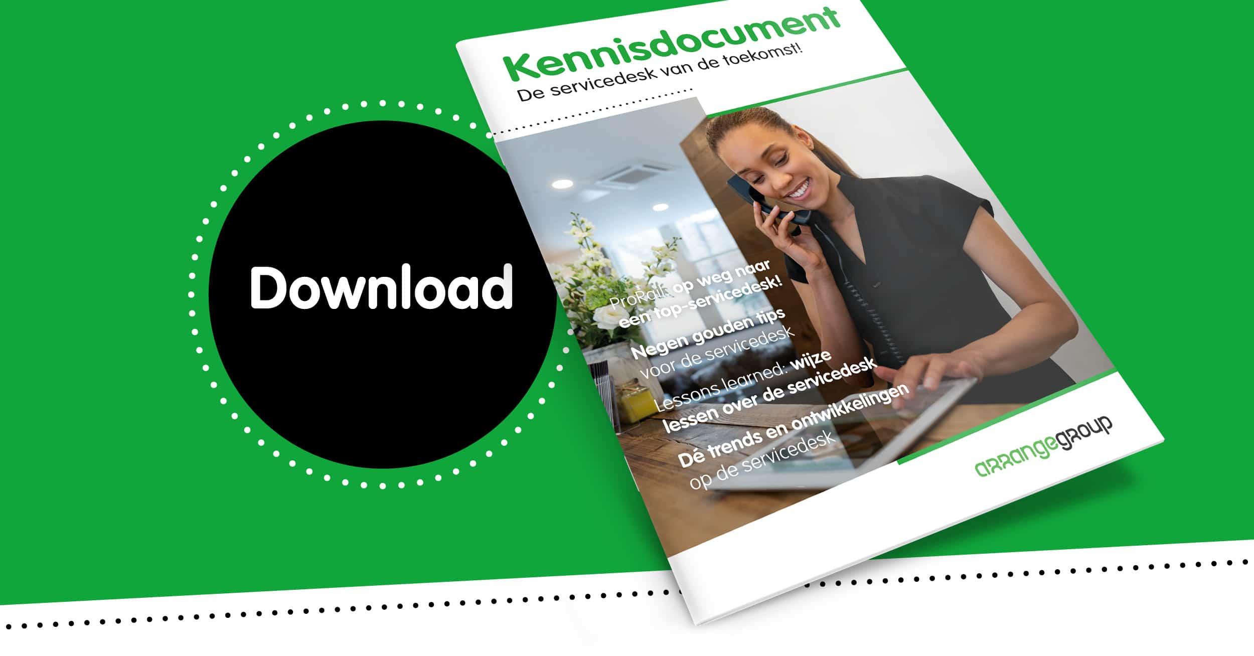 Kennisdocument Servicedesk